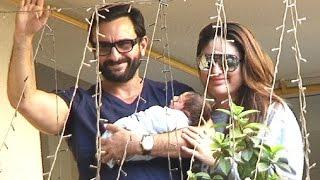 Kareena Kapoor Khan With Baby Boy Taimur FIRST VIDEO