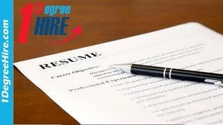 Insider Tips To Get Hired - Resume Tips: Do The Easy Things Well Thumbnail