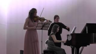 Франк Соната для скрипки и фортепиано Ля мажор