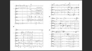 映像用音楽。弦楽合奏とコールアングレという編成です。昔作ったもので...