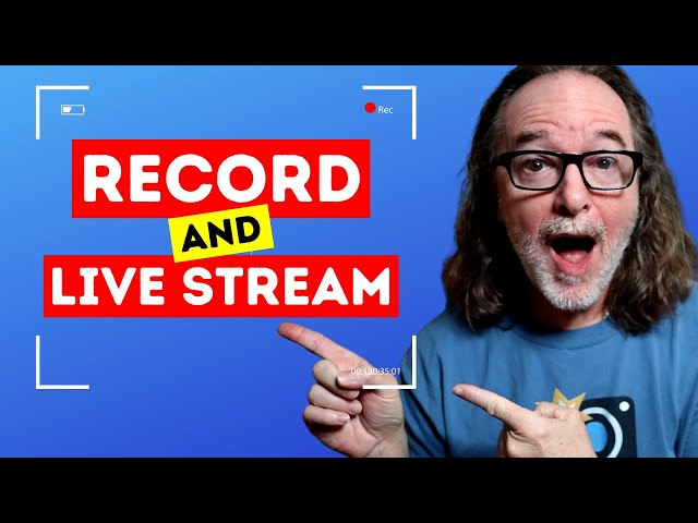Live Stream and Record at the SAME TIME?!?!