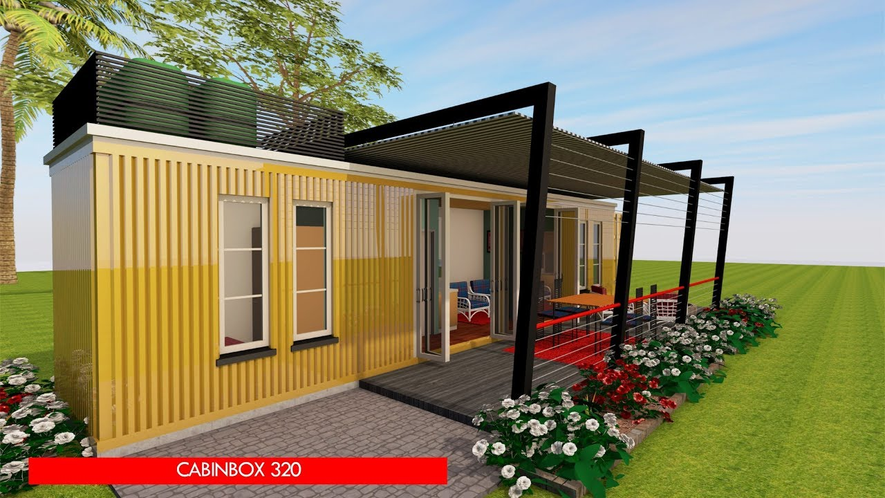 Shipping Container Homes Plans And Modular Prefab Design Ideas Cabinbox 320