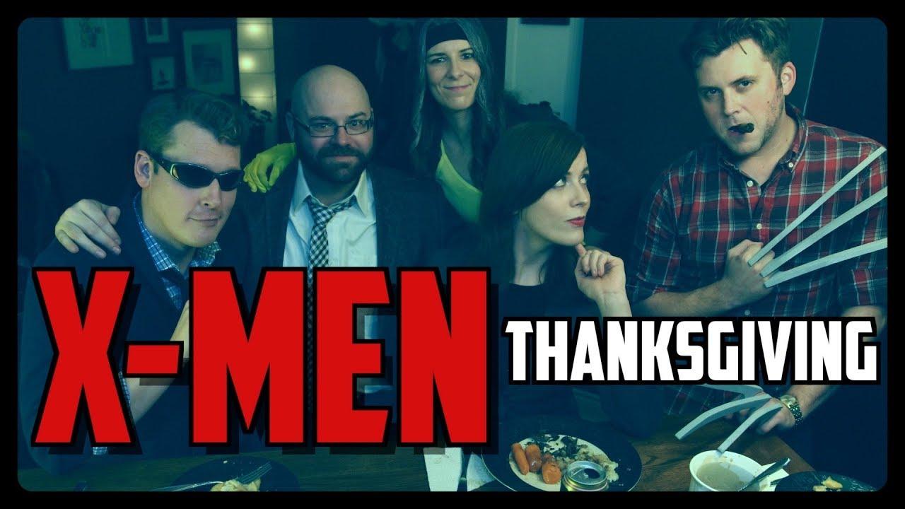 Sketch From Superheroes: X-Men Thanksgiving