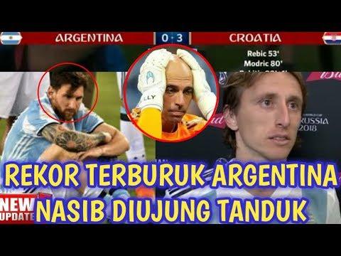 5 Fakta Kekalahan Argentina Vs Kroasia 0-3 Piala Dunia 2018