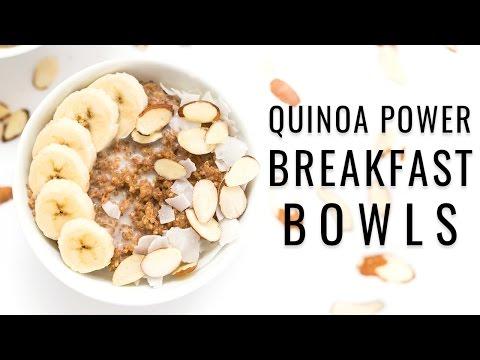 QUINOA POWER BREAKFAST BOWLS & an almond orchard tour