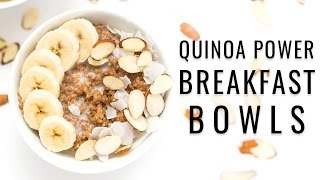 QUINOA POWER BREAKFAST BOWLS & an almond orchard tour