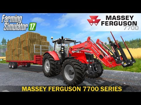 Farming Simulator 17 MASSEY FERGUSON 7700 SERIES TRACTOR