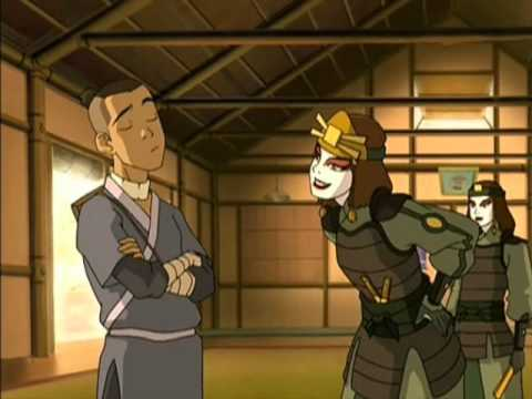 Sokka and suki - Kissing U