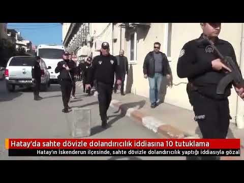 Sahte Dövizle Dolandırıcılık Iddiasına 10 Tutuklama