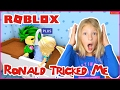 Ronald Tricked Me / Roblox MeepCity