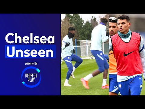 Thiago Silva Returns To Training + Tammy & Hudson Odoi's Hilarious Rap 🤣 | Chelsea Unseen