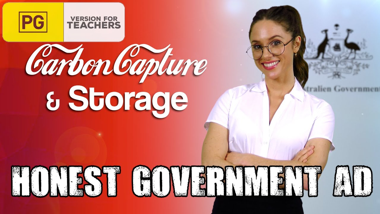 Honest Government Ad   Carbon Capture and Storage - YouTube