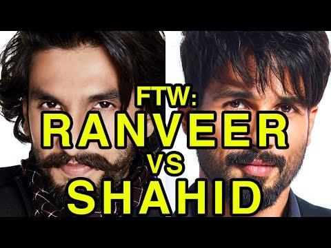 For The Win: Ranveer Singh vs Shahid Kapoor