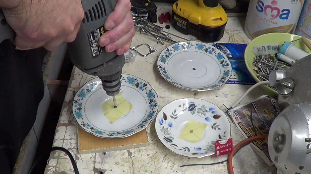 & Making Cake Stands (Practice run) - YouTube