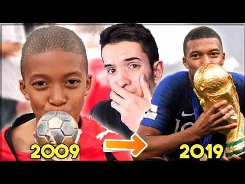10 YEARS CHALLENGE KOD POZNATIH FUDBALERA! 😱