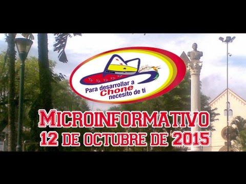 Microinformativo 12 octubre 2015