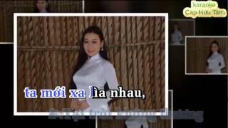 karaoke DANG DO TINH BUON moi sc