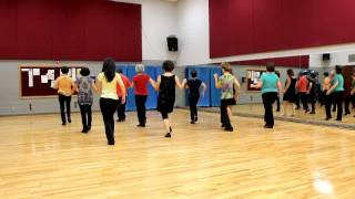 My Uptown Girl - Line Dance (Dance & Teach in English & 中文)