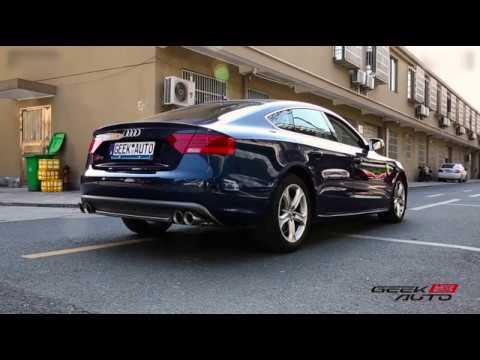 Audi A5 2.0T (B8) w/ Armytrix Quad-Tips Conversion Exhaust