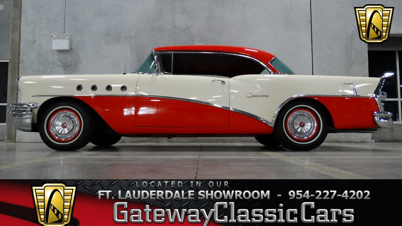 1955 Buick Century Riviera - Gateway Classic Cars of Fort Lauderdale - #12 - YouTube