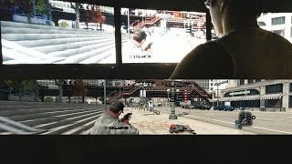 Watch Dogs Triple Monitor 5760x1080 Gameplay