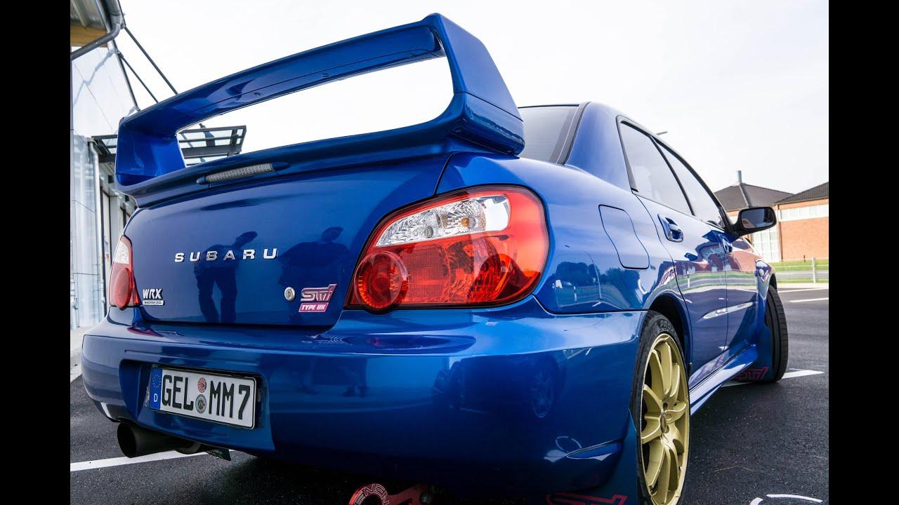 Subaru Impreza Wrx 2003 Exhaust Sound Youtube