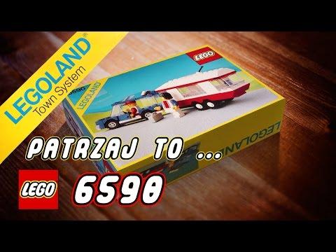 Lego Town 6590 Vacation Camper. Recenzja zestawu Lego z 1988 roku!