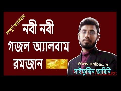 সাইফুদ্দিন আমিনি গজল অ্যালবাম নবী নবী ২০১৭। Nabi Nabi 2017 Full Gojol Album By Saifuddin Amini