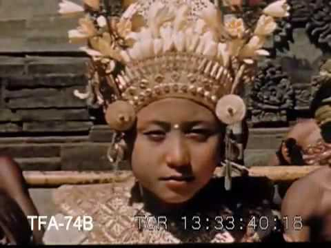 Bali old video 15: circa 1940-1945 People Of The Indies
