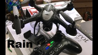 Potensic T18 GPS RAIN FLY Camera TEST Follow Me Drone Review