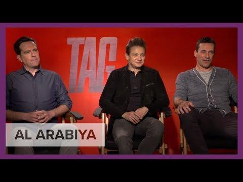 Al Arabiya sits down with ensemble cast of 'Tag' film