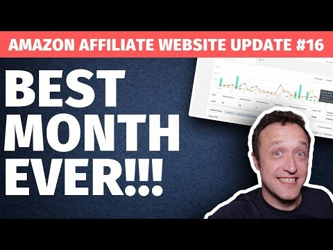 THE BEST MONTH YET!! 🤑🤑 - Affiliate Marketing Website Update #16 thumbnail