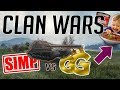 World of Tanks - [S1MP] vs [G__G] - Clan Wars, Arms Race