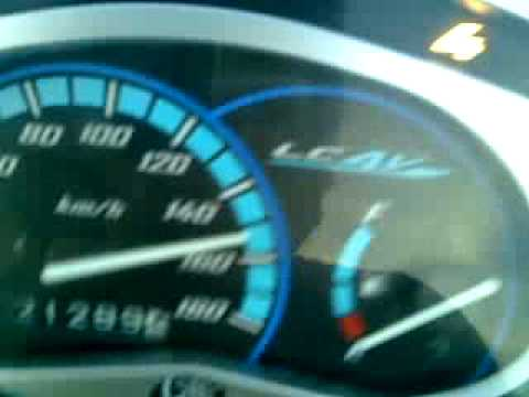 Yamaha exciter 135 orignal. max speed 153km/h