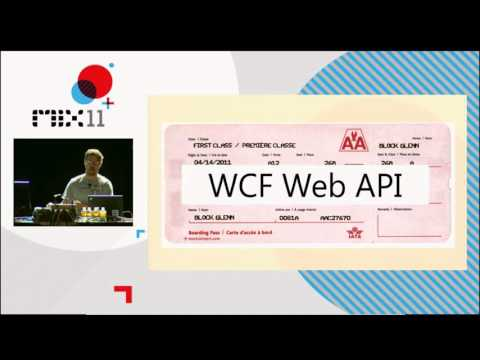 MIX11 WCF Web APis There's a URI for That