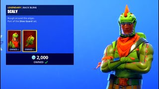 REX + TRICERA OPS SKINS RETURN! - Fortnite Daily ITEM SHOP [January 23] Rare Scout Skin Returns