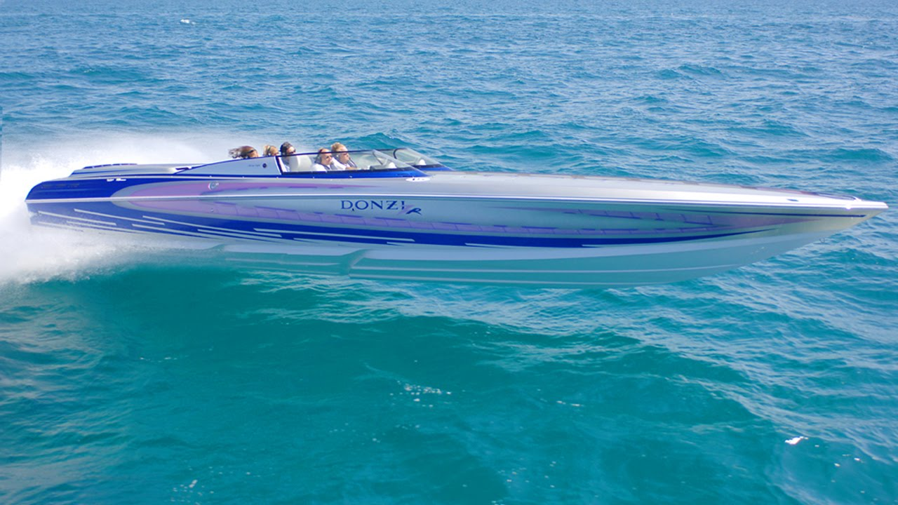 Donzi 38 ZR Pace Boat - Sarasota, Florida high performance
