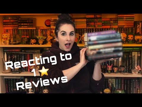 The Naughty Librarian: Reacting to 1 Star Reviews of Some of My Favorite Books!