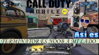 Terminator es noob a mi lado | Call Of Duty Mobile