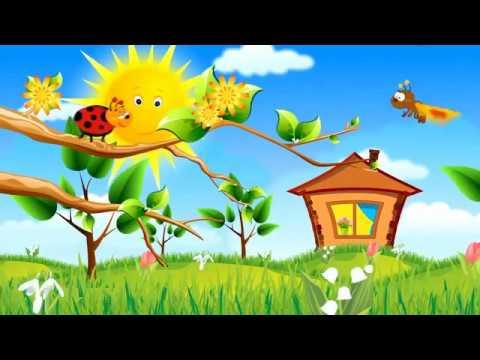 Футаж Праздник весны заставка к утреннику 8 марта HD