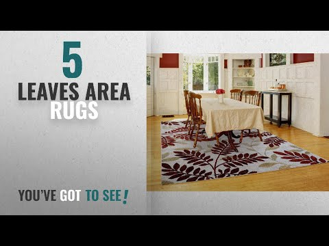 top-10-leaves-area-rugs-[2018-]:-gertmenian-signature-floral-rug-prime-label-textural-woven-area