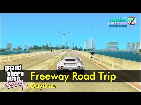 Vice City Road Trip (daytime, No Music, No Traffic) | The GTA:Vice City Tourist