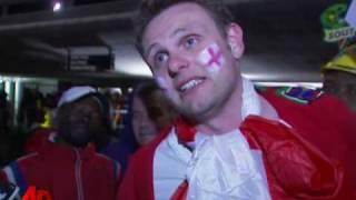 Raw Video: Fans React to England-Algeria Draw