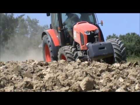 Prova trattori kubota 2013 by lampacrescia youtube for Trattori kubota