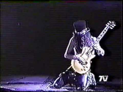 slash guitar solo live in chile'92