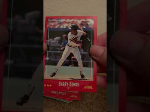 Mark Mcgwire And Matt Nokes Rookie Sluggers Pullbarry Bonds 2nd Year Card As Well