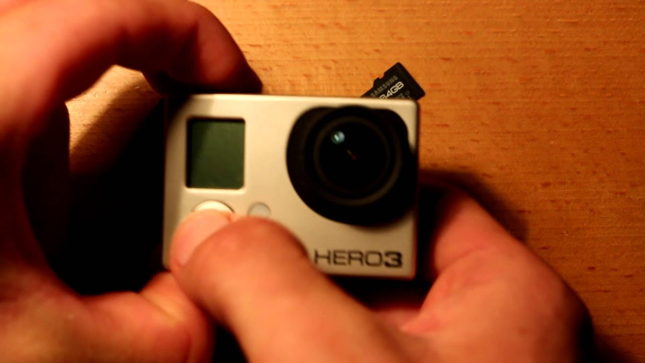 Gopro hero 3 password recovery - Howto Hard Reset Gopro Hero 3 And 3 Cameras