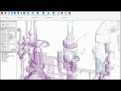 Revit plugin source code utilizing FindSurface 2018 - Laser