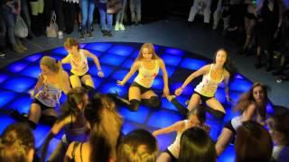 Отчетный концерт TRINITY DANCE 3.04.201 клуб Ленинград. Группа Лены Прель.
