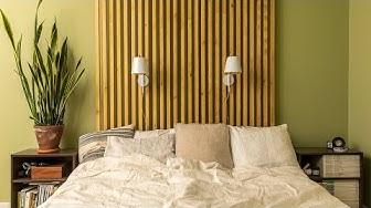 DIY: Puinen sängynpääty